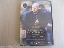IL COMMISSARIO MONTALBANO Tocco D'Artista (2001) DVD ORIGINALE USATO