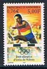 Andorre 2000 Yv N°534 Mnh**  Jeux olympiques de Sydney : Course de haies