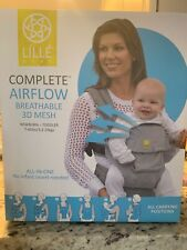 LILLEBABY Complete 6-in-1 Airflow Breathable 3D Mesh baby carrier - Black