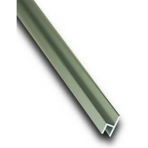Aluminium h-Profil kleines h Eloxiert E6/EV1 Alu h Profil Schiene 0,5 - 1,5 M