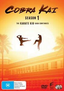 COBRA KAI Season 1 DVD (Region 4) The Karate Kid Saga Continues