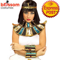 AC978 Egyptian Cleopatra Queen of Nile Collar Roman Goddess Costume Accessory