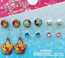 Disney Princess Earrings (6-Pairs)