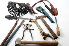 Colección herramienta Starter cable tubo alicates Hammer palanca destornillador pinza