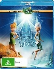 TINKERBELL & THE SECRET OF THE WINGS - BRAND NEW & SEALED BLU RAY (FAIRIES)