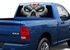 Death Eyes Skull Skeleton fear Rear Window Decal Sticker Pick-up Truck SUV Car