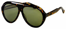 Gucci Sunglasses GG0479S 003 Havana Frame   Green Lens