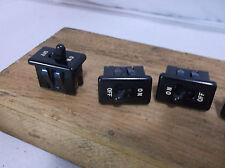Vintage appliance industrial Tumbler SINGLE POLE Wall Switch bakelite fan factor