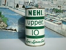 NICE NEHI UPPER 10 LIME-LEMON FLAT TOP SODA CAN