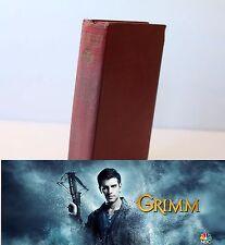 NBC Grimm TV Show Prop Hero Production Fake Dummy Book