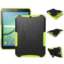 Hybrid Outdoor Schutzhülle Grün für Samsung Galaxy Tab S2 9.7 T810 Tasche Hülle