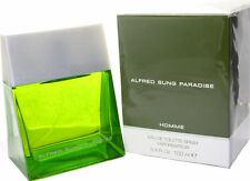 ALFRED SUNG PARADISE HOMME Men cologne 3.3 / 3.4 oz New in Box