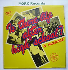 IS THERE LIFE AFTER HIGH SCHOOL - Original Cast - Ex Con LP Record OC 8240