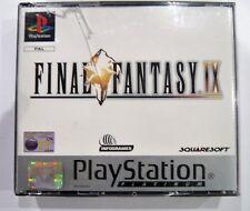 SONY PS1  Playsation 1 FINAL FANTASY 9 IX PAL PLATINUM - Complete
