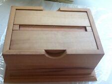 cigarette wooden storage box