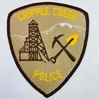 Cripple Creek Police Teller County Colorado CO Patch (A2)