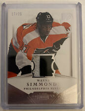 2013-14 Panini Dominion WAYNE SIMMONDS Authentic Materials Patch #D-WS 17/25