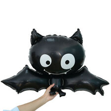 88cm * 64cm Black Bat Animal Halloween Foil Balloon Toys Children Birthday Party