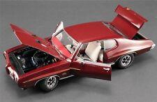 ACME 1970 VINTAGE PONTIAC GTO JUDGE 1:18 BURGUNDY POLY GOODYEAR A1801203 GMP