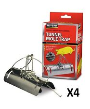 Pest Stop Tunnel Mole Trap Pack of 4
