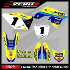 Suzuki RM H. 125 250 450 MX Gráficos motocross gráficos H. Bomber Suzuki