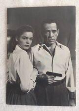 Lauren Bacall and Humphrey Bogart Movie Star Photo Postcards E50393