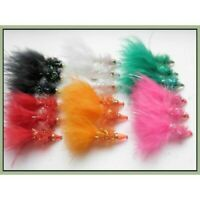 Trout Flies, Lures, 18 Pack, Nomads, Mixed Colours, Size 10, For Fly Fishing