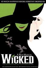 Wicked (Broadway Musical) Movie POSTER 27 x 40, A, LICENSED NEW