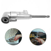 105 ° Right Angle Drill Bit Extension 1/4-inch Hex Driver Screwdriver Adapter