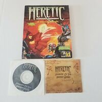 🔥 Heretic Shadows of the Serpent Riders Heretic official strategy guide 1996 pc