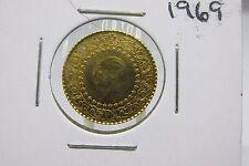 1969 Turkey Gold 50 Kurush Gold Coin