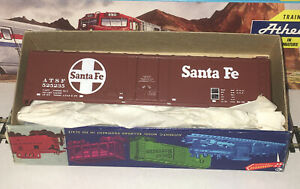 Roundhouse HO 50' Plug Door Box Car 1273 Santa Fe Unassembled Kit 525235