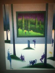 Leo Posillico Painting Framed 38x31