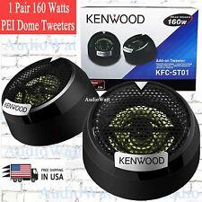 2x Kenwood KFC-ST01 4-Way Car Audio 160W PEI Balanced Dome 1