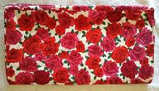 Vintage Red & Magenta Rose Fabric