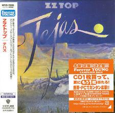 ZZ TOP - TEJAS ( MINI LP AUDIO CD with OBI )