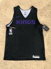 Nike Sacramento Kings Practice Jersey NBA Reversible Black Men's Large L Fox