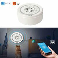 Smart Life APP Wireless WiFi Temperature Humidity Sensor Siren Alarm For Tuya
