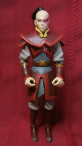 """2005 Mattel/Viacom Avatar the Last Airbender Prince Zuko 6"""" Action Figure Outfit"""
