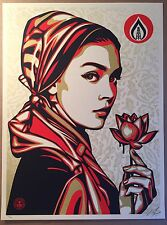 Obey Natural Springs SCREEN PRINT SHEPARD FAIREY Poster SIGNED & NUMBERED 18X24