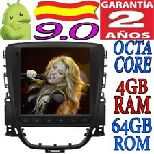 "10.4"" ANDROID 9.0 OPEL ASTRA J/VAUXHALL HOLDEN RADIO TESLA COCHE GPS WIFI 4GB SD"
