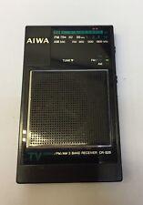 Radio Aiwa Cr-s25 FM/AM/TV Sensitive Receiver Vintage Japan Working Ok