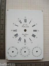 Cadran L'epée triple quantieme pendule,pendulette 75x101 mm dial N17