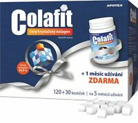 Pure Colafit Collagen 150 tablets Crystalline soft cubes Natural BIO 5 months