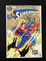 ADVENTURES OF SUPERMAN #490 DC COMICS 1992 NM+