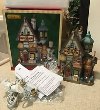 Lemax Christmas Village Lighted The Copper Lantern Lamp Shop House W/ Box