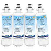 4 pack  LG REPLACEMENT FRIDGE WATER FILTER LT700P ADQ36006101  GF-L613PL