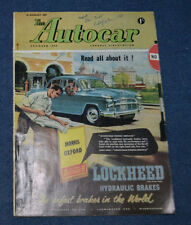 Cars, Pre-1960 Weekly August Magazines