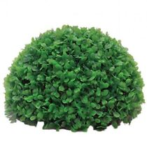 22cm Half Grass Moss Ball Aquarium Ornament fish tank decoration plastic green