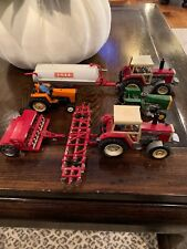 Vintage 1970's -80's BRITAINS Farm Tractors Massey Ferguson John Deere NICE